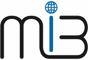 MiB Logo in blau