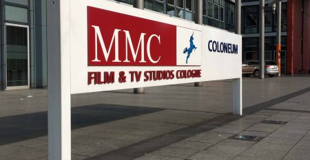 MMC Film & TV Studios Cologne – Coloneum – Firmenschild