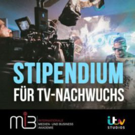 ITV Studios Germany vergibt MiB Stipendium 2019